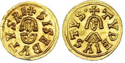 Moneda de Sisebuto
