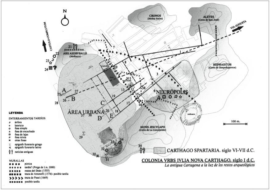 Plano Carthago Spartaria