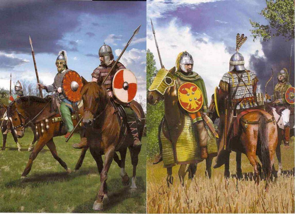 Caballería en la España bizantina