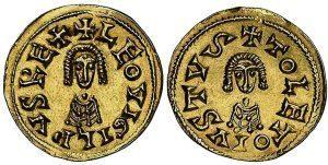 Moneda de Leovigildo